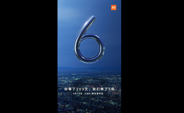 Xiaomi Mi 6 With Snapdragon 835 SoC to Launch on April 19: Officially Confirmed
