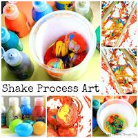 Shake Process Art