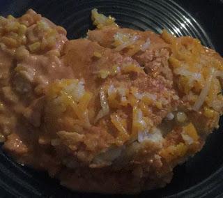 Chicken Taco casserole, chicken taco bake, mexican dish, mexican casserole, easy casserole recipe,