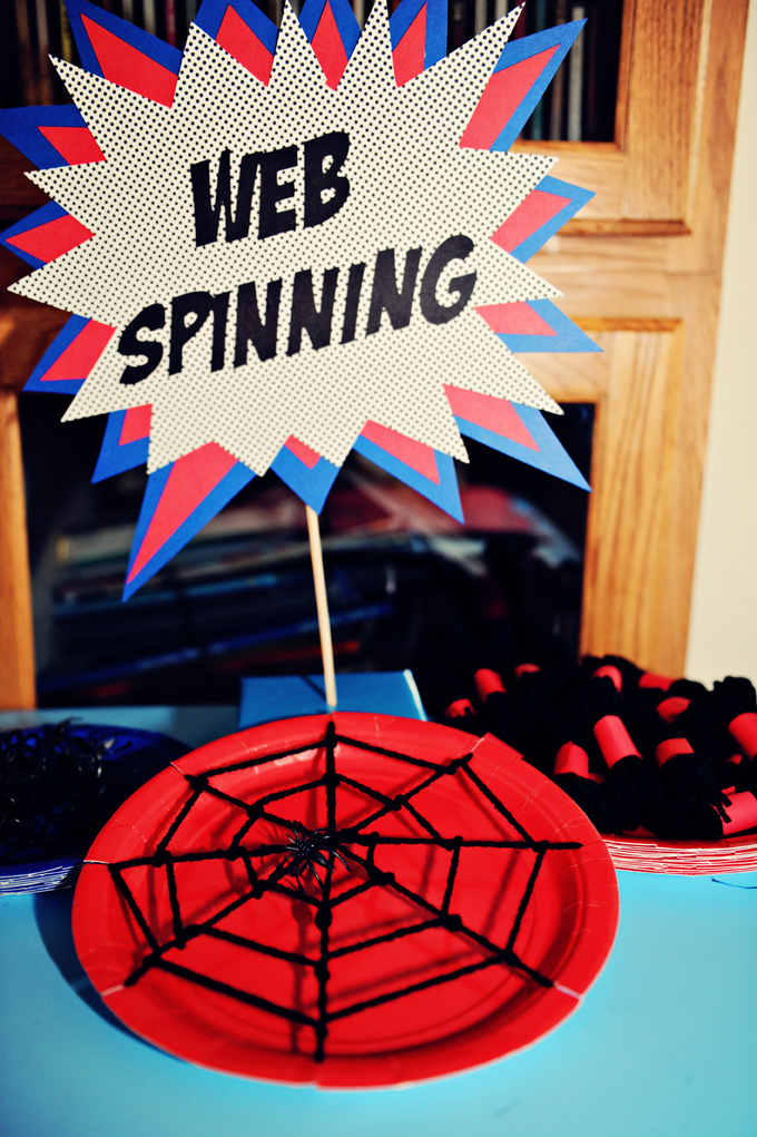 The Party Wall Spiderman Birthday Party Part 3 Games And Activities