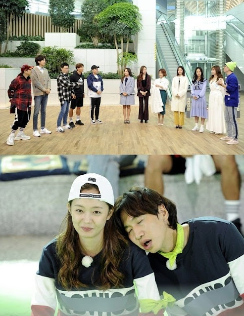 Lee Kwang Soo dan Jun So Min Adegan Romantis