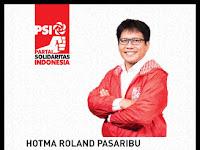 Latar Belakang Hotma Roland Pasaribu Caleg PSI Dapil Jawa Barat 6 Depok - Bekasi No Urut 3