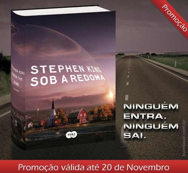 "Resultado | Promo: ""Sob a Redoma"", do autor Stephen King 17"