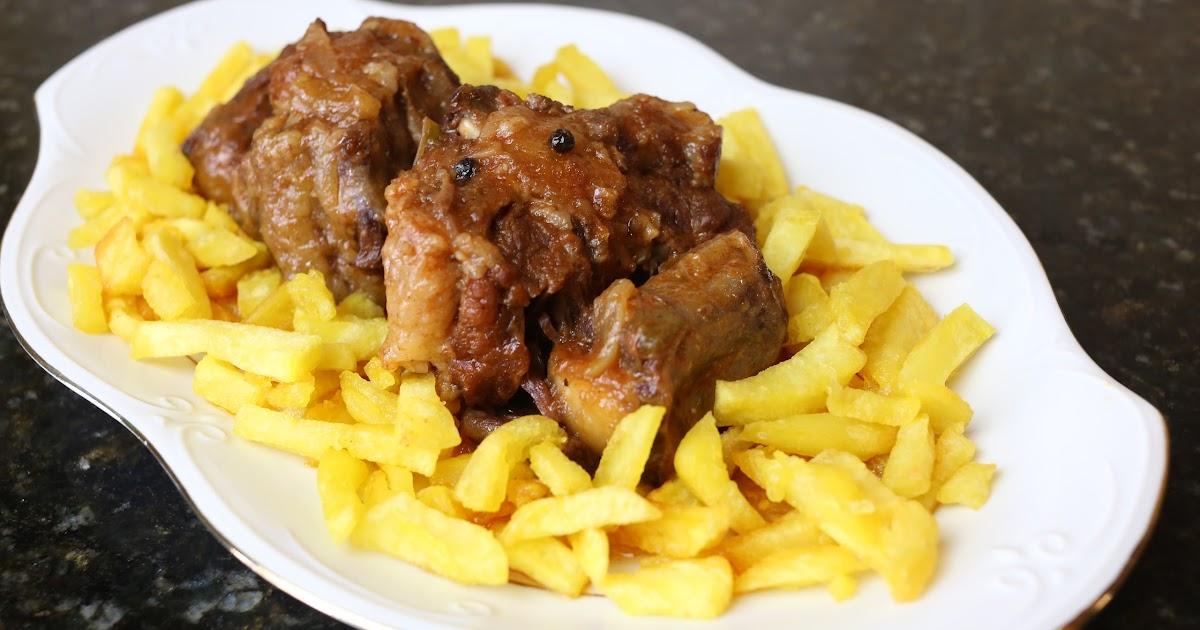 Cocina andaluza rabo de ternera en salsa - Cocinar rabo de ternera ...