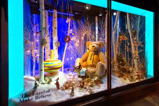 Harrods, escaparates de navidad, The Land of Make Believe,