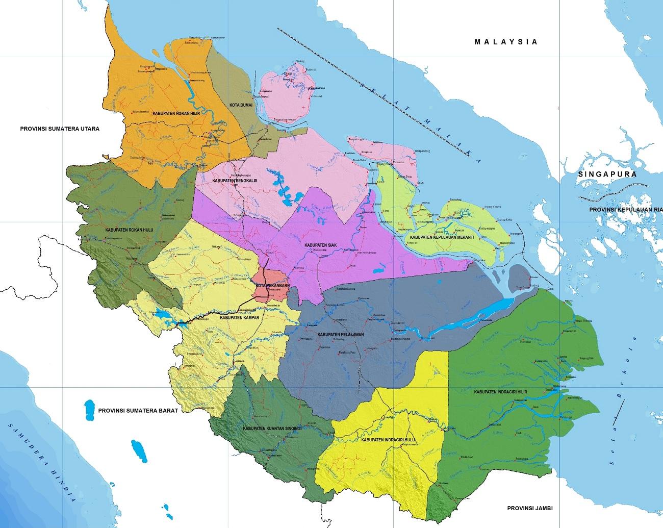 Peta Riau HD