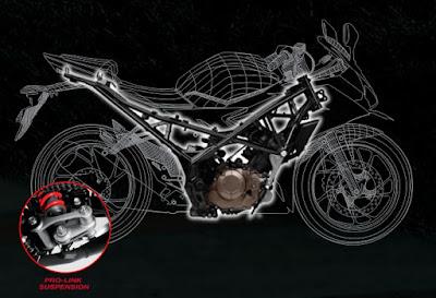 Rangka Honda CBR 150R Facelift 2016, Frame Honda CBR 150R Facelift 2016