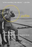 Capa do livro O pacifista, de John Boyne (Companhia das Letras)