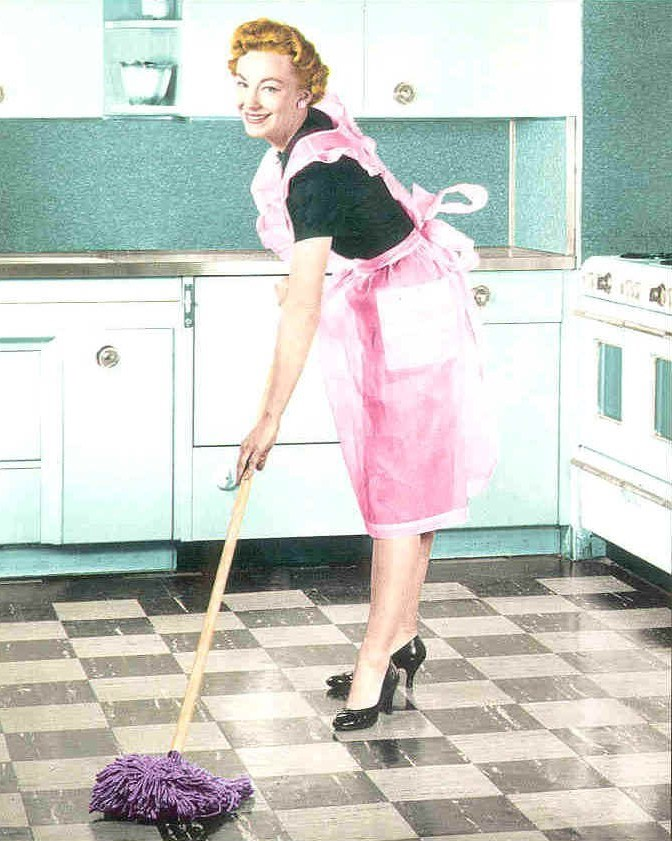 Proverbs 31 Woman Cleaning