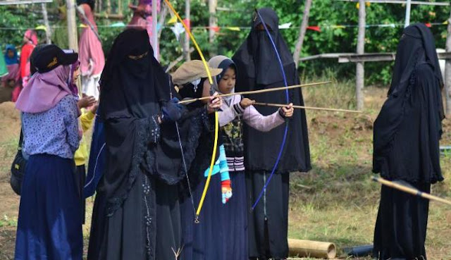 muslimah memanah