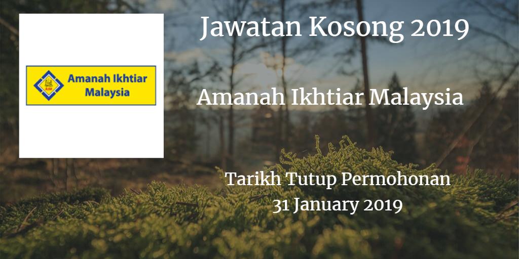 Jawatan Kosong AIM 31 January 2019