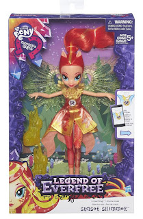 Legends of Everfree Sunset Shimmer Doll