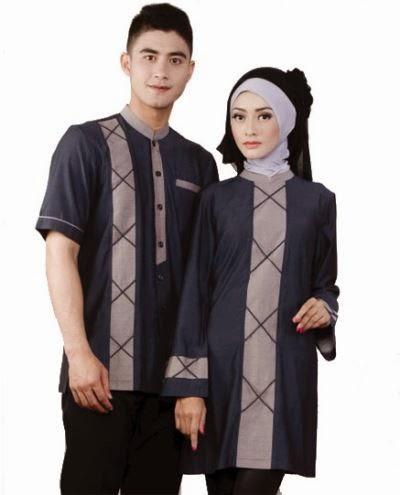 model baju couple untuk pasangan muda muslim
