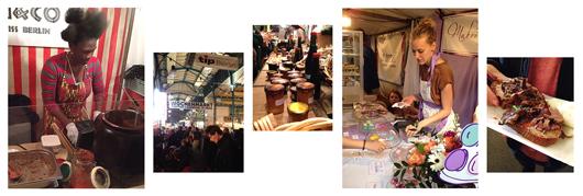 Street Food Market in der Markthalle Neun
