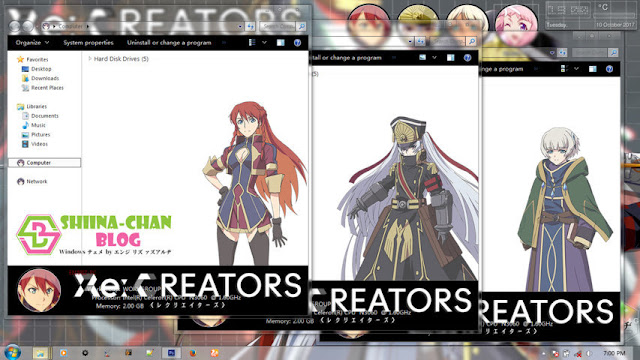 Download Tema Windows 7 RE: Creators by Enji Riz