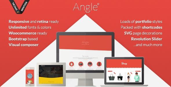 Angle v1.13.3 - Flat Responsive Bootstrap Multipurpose Theme