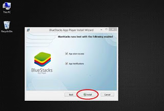 bluestacks installing easy steps for all users...step 2