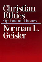 Top 5 Recommended Books for Ethics and Politics- Christian Ethics: Options and Issues by Norman Geisler