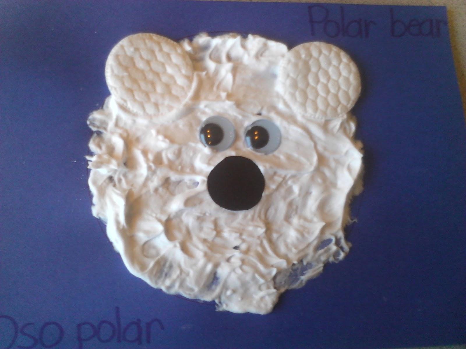 Preschool: Polar Bear Craft