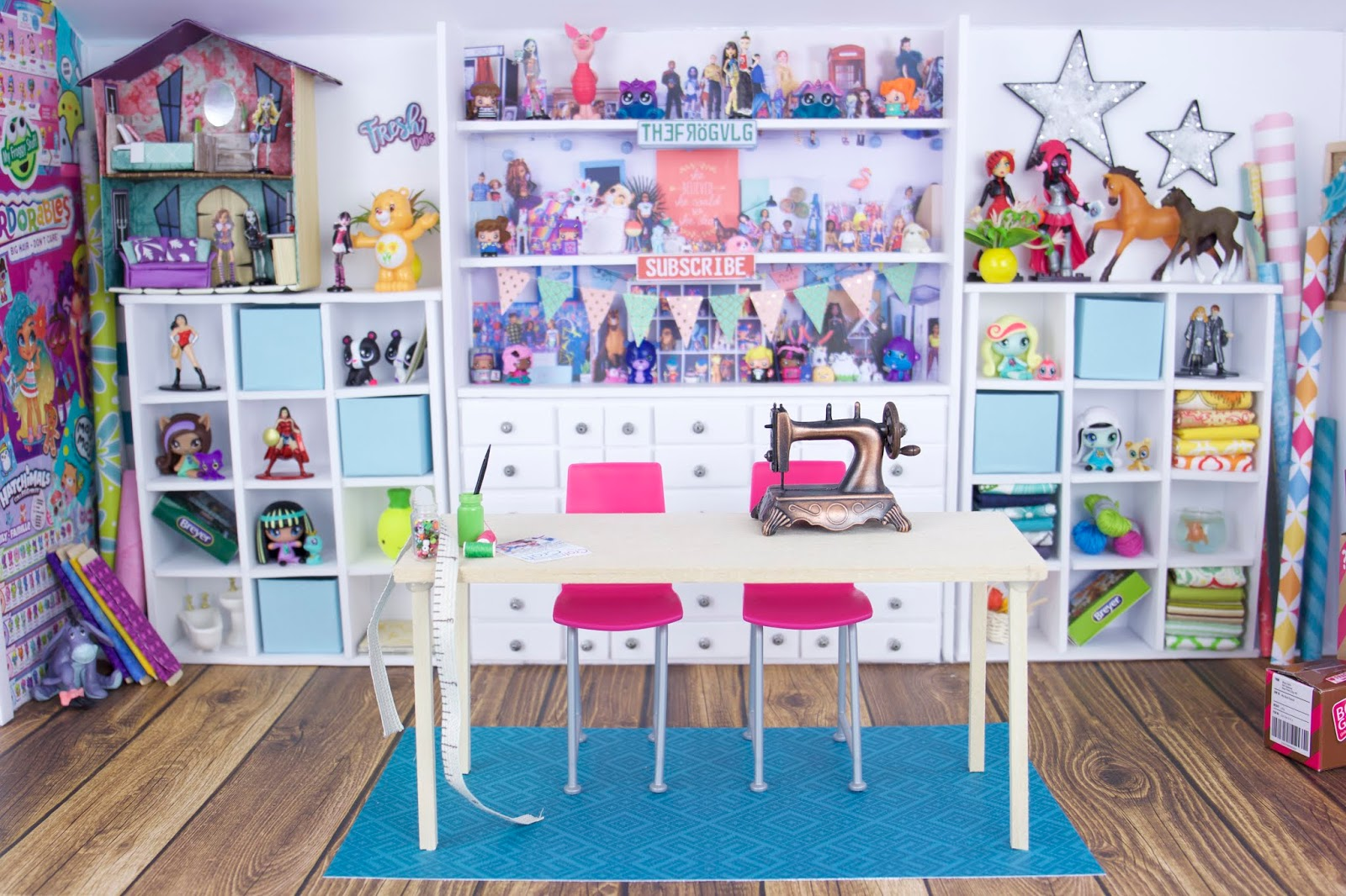 My Froggy Stuff Make Froggy S Craft Room In Miniature Free