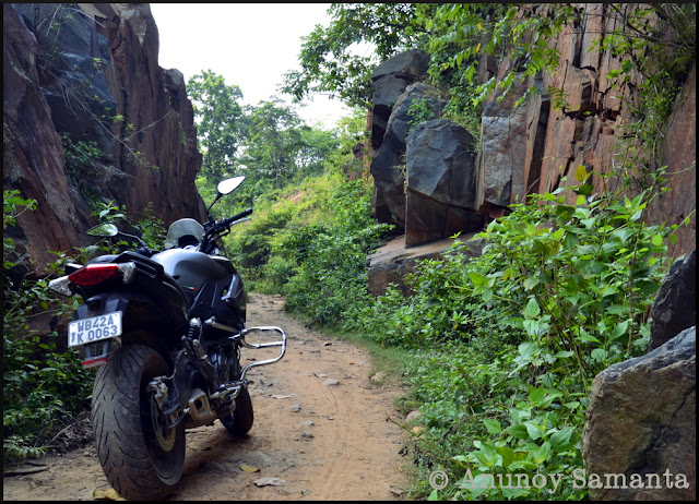 Burudih Lake and Dharagiri Falls - a leisurely monsoon Ride to Ghatshila
