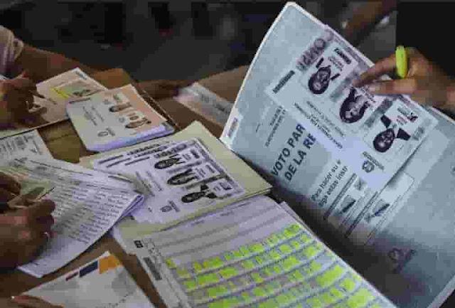 Fraude masivo en elecciones colombianas (+Uribistas adulteran votación con papeletas fotocopiadas)