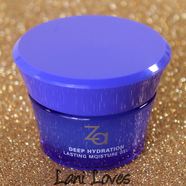 ZA Deep Hydration Lasting Moisture Gel Review