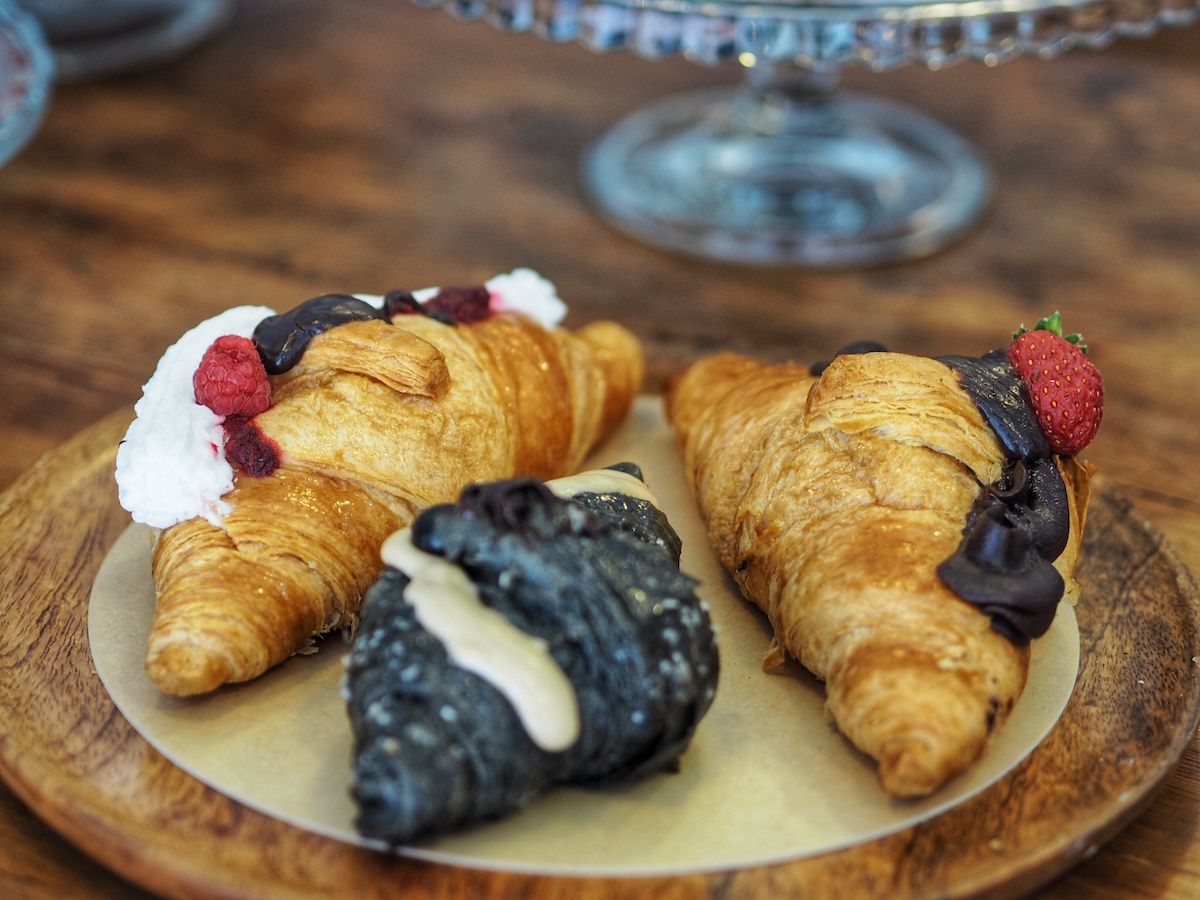 Vegan croissants from La Besnéta