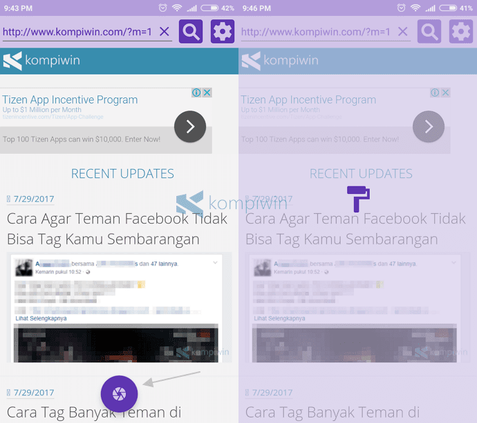 download screenshot website secara full di android