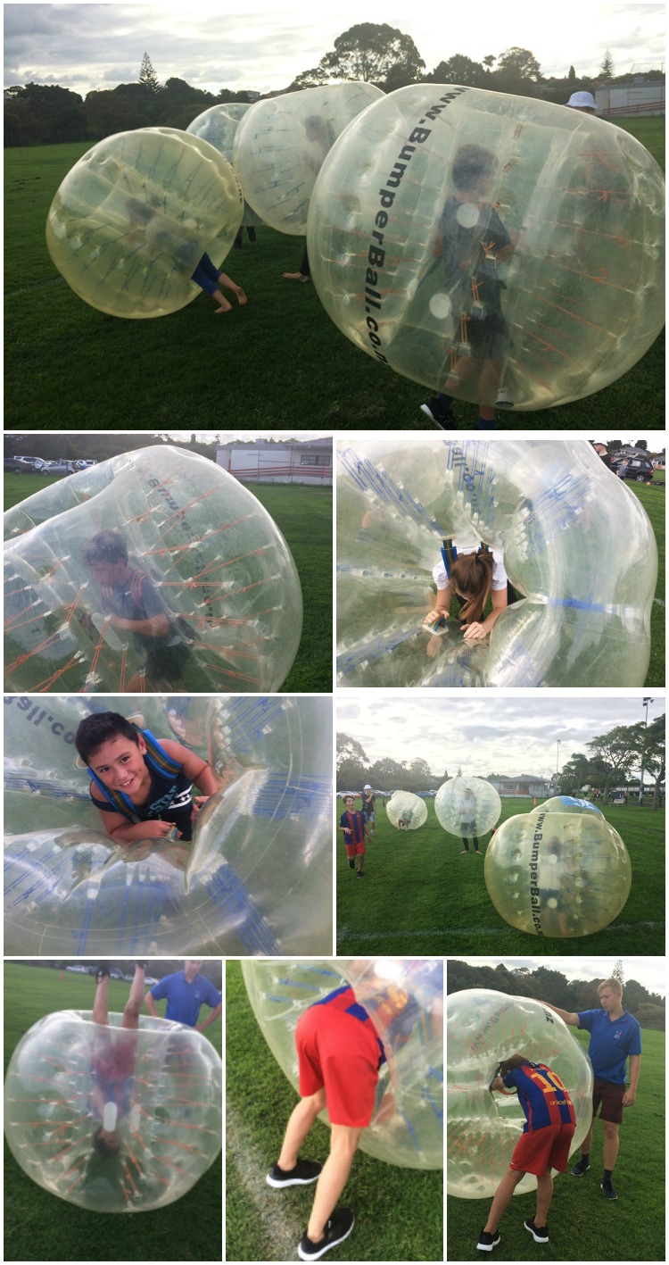 Bumper Ball (Bubble Soccer) is fabulous Fun!