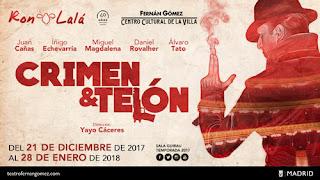 Teaser de Crimen y telón - Ron Lalá