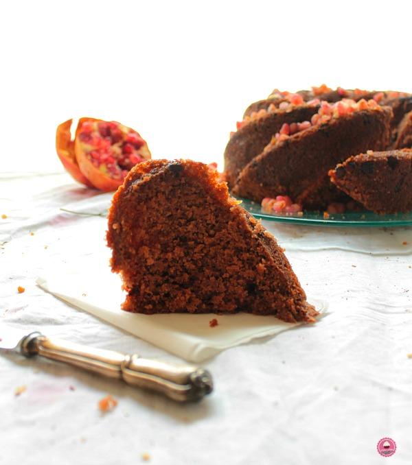 promegranate and chocolate run bundtbakers