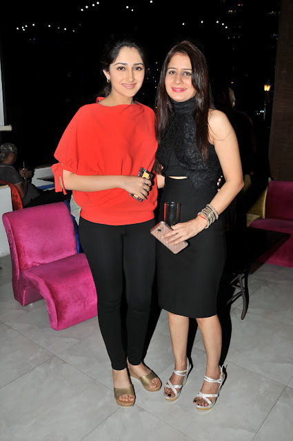 Sayesha Saigal with Natasha Wadhawan
