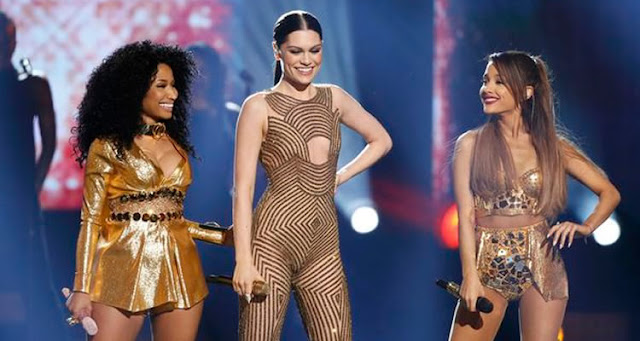 Video: Jessie J con Ariana Grande & Nicki Minaj - Bang Bang en concierto