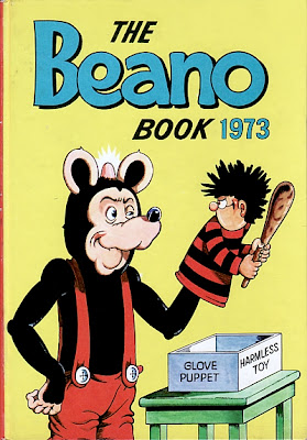 Beano Book 1973, Biffo the Bear and Dennis the Menace