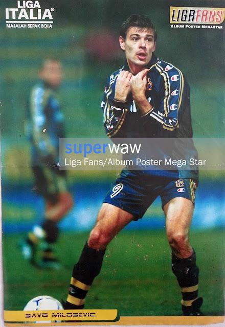 Poster Savo Milosevic (AC Parma)
