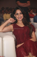 Pragya Jaiswal in Stunnign Deep neck Designer Maroon Dress at Nakshatram music launch ~ CelebesNext Celebrities Galleries 146.JPG