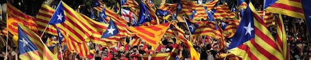 Banderas en una manifestación