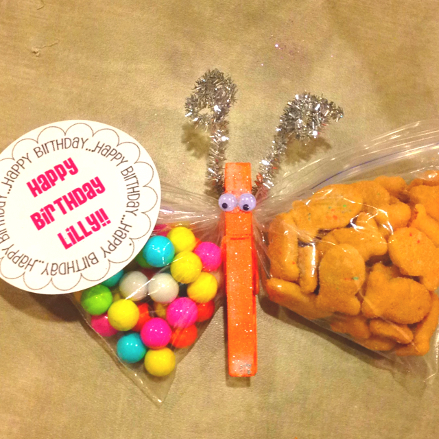 Life Sprinkled With Glitter: Healthy Birthday School Treat