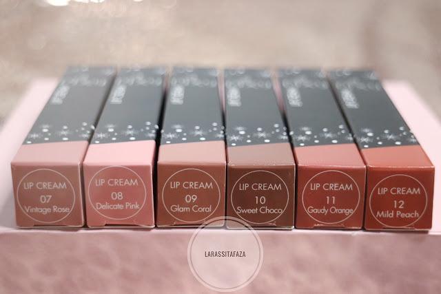 Review Shades Terbaru PIXY Lip Cream No. 7-12 - LARAS SITA