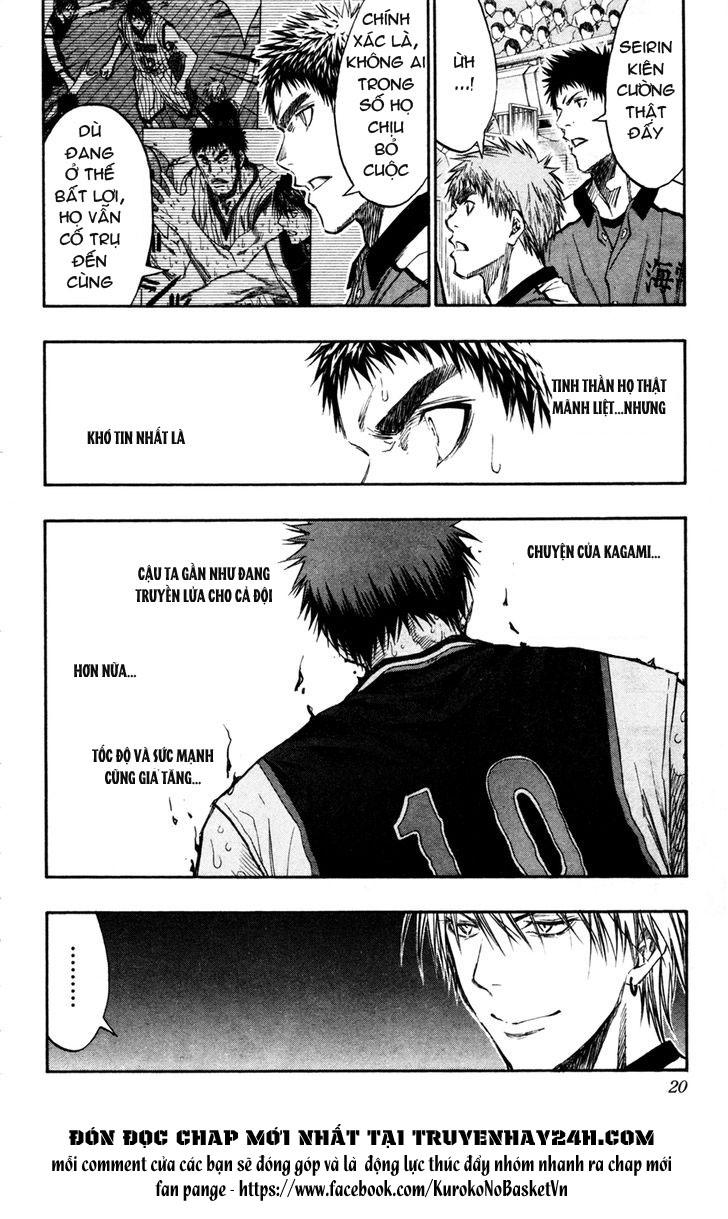 Kuroko No Basket chap 163 trang 18