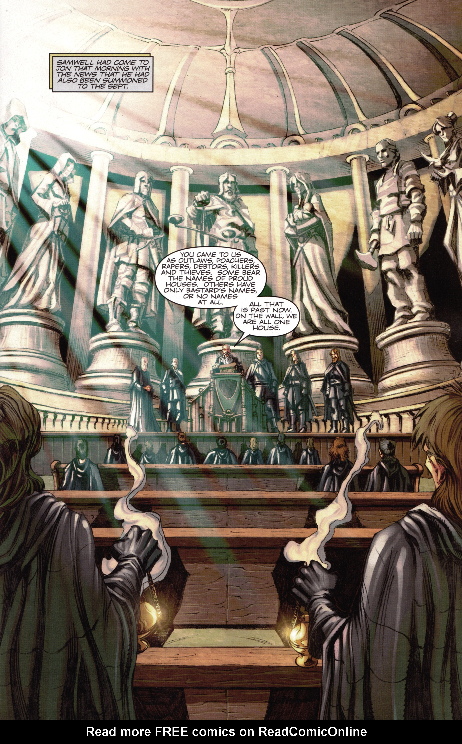 Read online A Game Of Thrones comic -  Issue #15 - 3