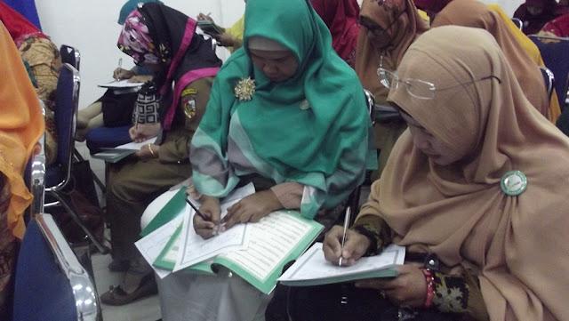 Bimtek Gerakan Literasi Pendidikan Agama Islam (PAI) Se Kota Pekanbaru