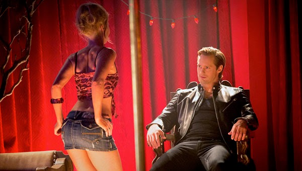 Eric y Ginger en 'True Blood 7x09'
