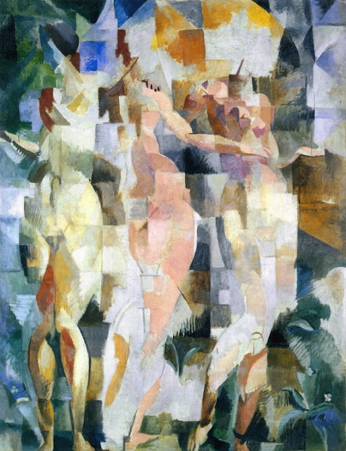 The Three Graces, Robert Delaunay, 1912