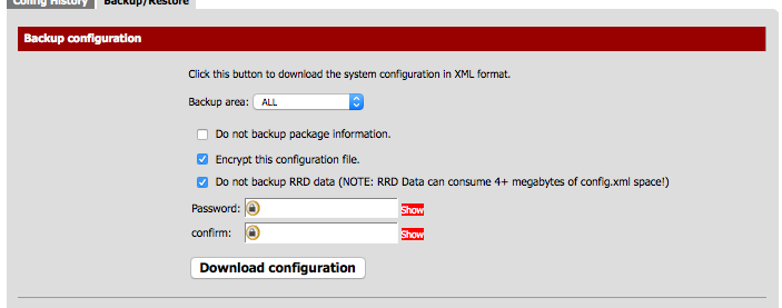 Ken Felix Security Blog: pfSense configuration management
