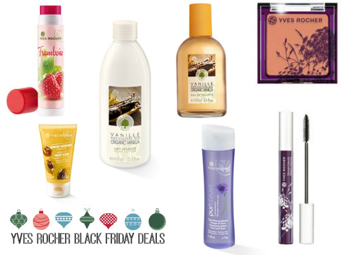 Yves Rocher black friday deals 2014