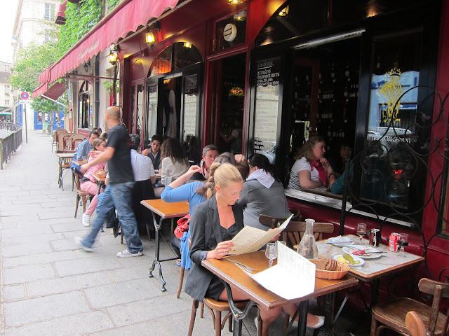 Restaurang Chez Marianne i Marais