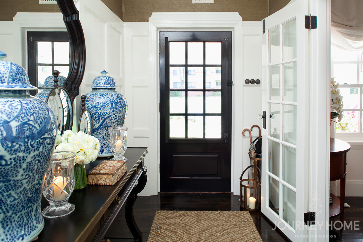 Journey home interior design for canberra designed our front door specified new antique style hardware and electrical designed the wall panelling and trim details new custom french doors rubansaba