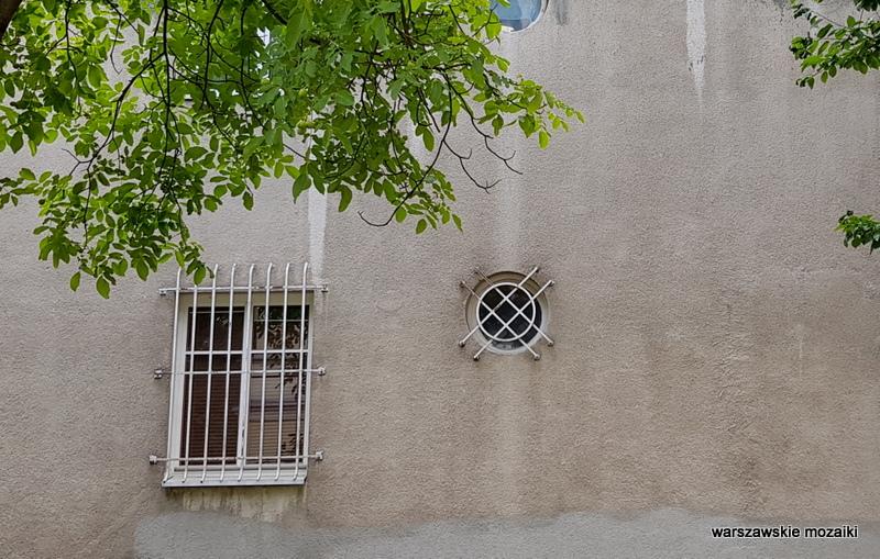 Warszawa Warsaw willa pałacyk architektura przedwojenna Mokotów architektura Mokotowa okno